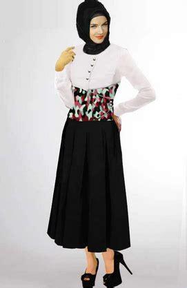 Busana Blouse Trendy 1 31 koleksi baju muslim modern bentuk dress untuk wanita