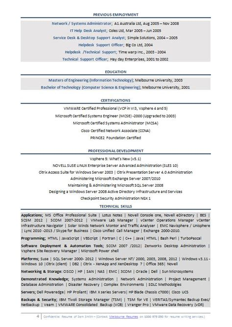 Systems Engineer Resume by Senior Systems Engineer Resume Resume Template 2018