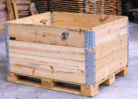 cajon de madera caj 243 n de madera con bisagras cajas pallet logismarket