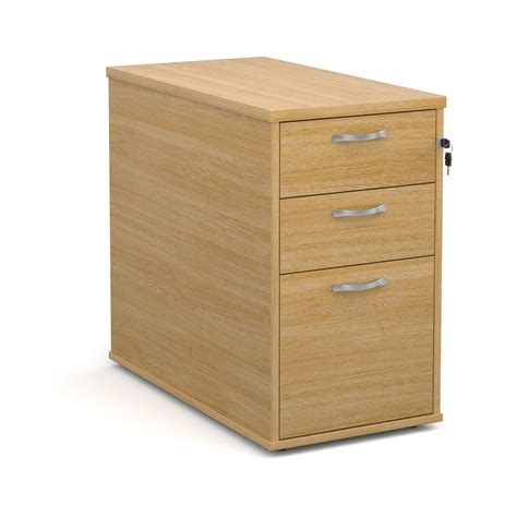 silver desk with drawers desk high 3 pedestal with silver handles 800mm deep