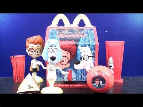 Mister Peabody And Sherman Set Happy Meal Mc Donalds Mcd Mekdi Murah 2014 mr peabody sherman set of 2 mcdonalds happy meal toys 3 4 review makeup guides