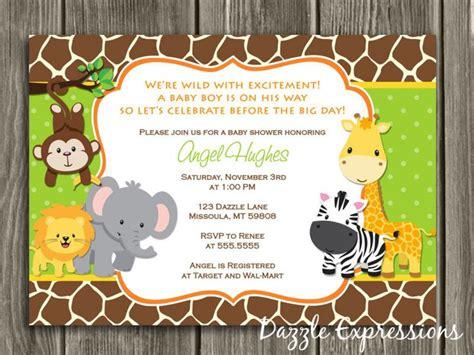 17 best ideas about safari baby showers on pinterest