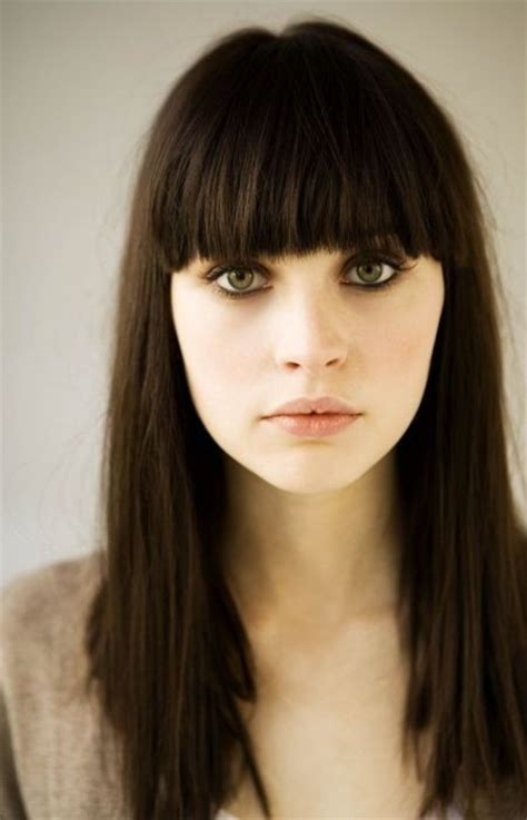 Blunt Bangs Hairstyles by Hairstyles New Haircuts To Try For 2017 Hairstyles