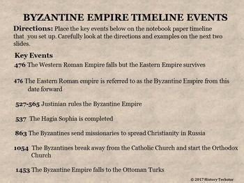 byzantine empire timeline timeline byzantine and