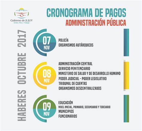 cronograma pago devolucion percepcion 35 el martes 7 inicia el cronograma de pagos click jujuy