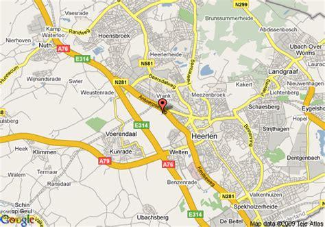 heerlen netherlands map map of der valk hotel heerlen heerlen