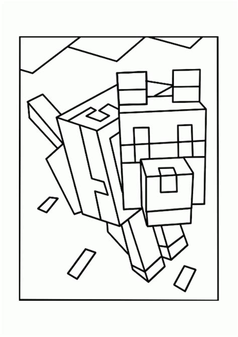 how to print in coloring book mode minecraft coloring pages animals coloring home