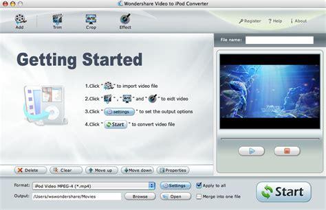 format video ipod video to ipod nano format
