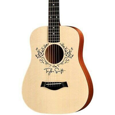 taylor taylor swift signature baby acoustic guitar natural