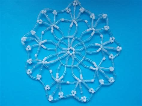 beaded snowflake 407 best images about beaded snowflakes patterns