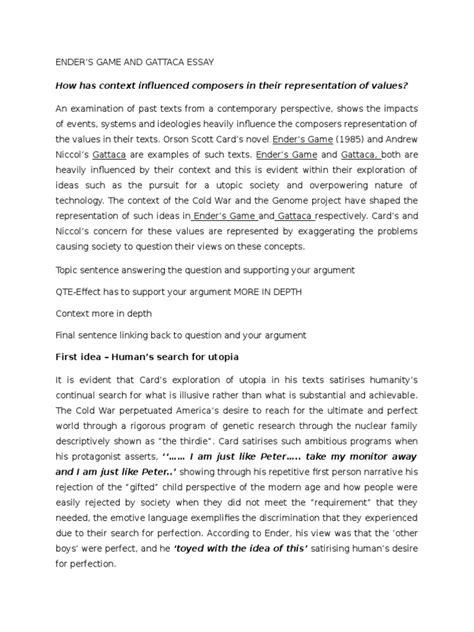 themes in gattaca essay gattaca essay docoments ojazlink