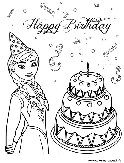 birthday cakes simple birthday cake coloring page anna loves birthday cake colouring page coloring pages