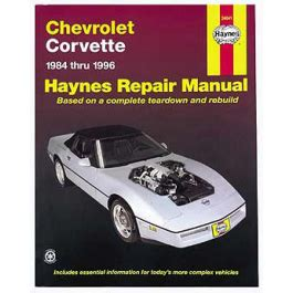 service repair manual free download 1985 chevrolet corvette lane departure warning corvette haynes repair manual 1984 1996