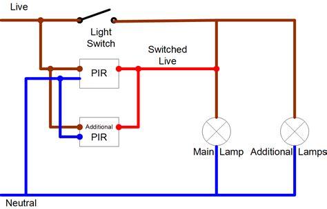 wiring a pir