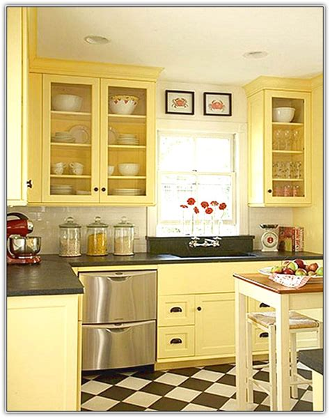 charming Kitchen Cabinet Ideas Small Kitchens #1: best-color-for-kitchen-cabinets.jpg