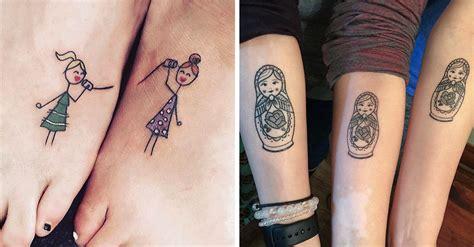 imagenes tatuajes hermanas 30 ideas de tatuajes bonitos y peque 241 os para hermanas