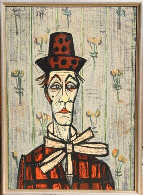 59 best images about pinturas clown de bernard buffet on