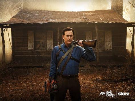 film ash vs evil dead ash vs evil dead season three renewal for starz horror