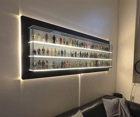 custom made wars figure display shelf