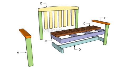2 x 4 bench plans 2x4 bench plans howtospecialist how to build step by