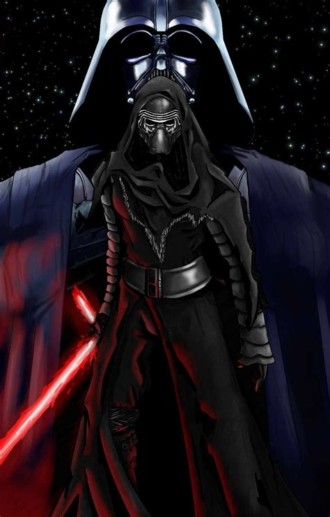 Shadow Of Kylo Ren in the shadow of the sith kylo ren by alex mort the
