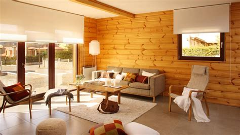 wood walls in living room wooden panel walls in 15 living room designs home design lover