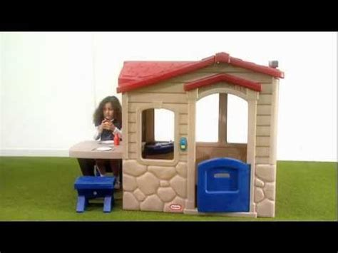 little tikes picnic on the patio playhouse youtube