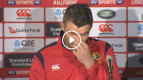 One Look Says It All by When A Look Says It All Warren Gatland And O Mahony