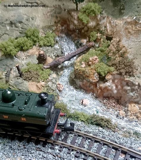 train layout water features create super realistic streams rivers for your model
