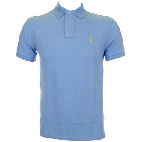 Polo Shirt Polo Ralph Chatham Blue Slim Fit Polo Shirt Polo