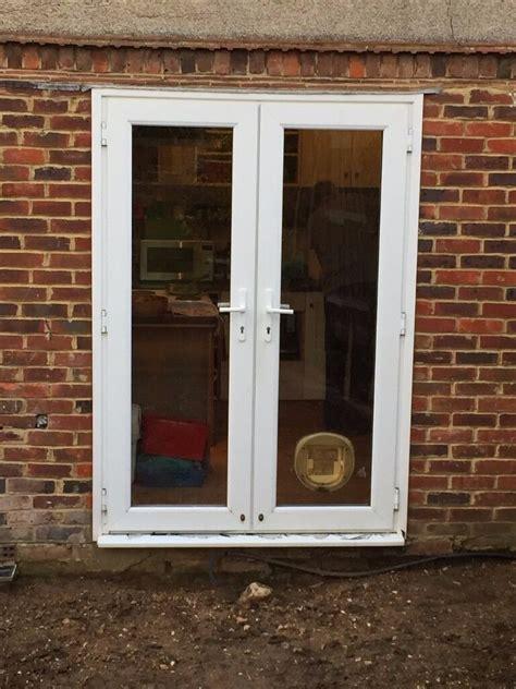 patio door cat flap upvc patio doors with cat flap in shoreham by sea west
