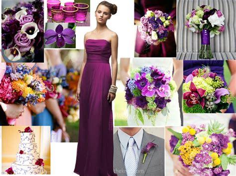 berry colored wedding pantone wedding styleboard