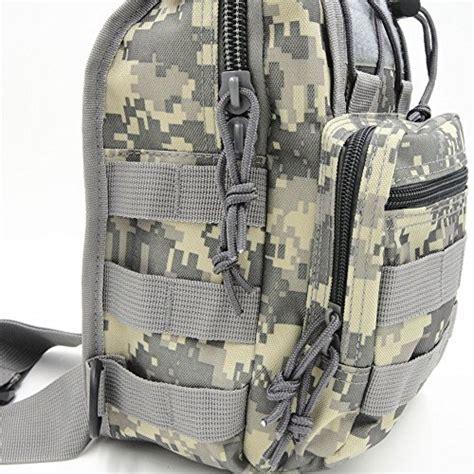 Tas Slempang Shoulder Tactical Army Desert boxuan warehouse outdoor tactical shoulder backpack flag patch sport bag pack