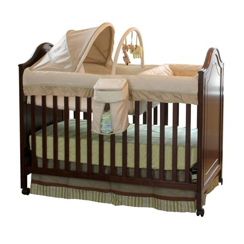 Babies In Crib Summer Infant 3 In 1 Symphony Convertible Crib With Bassinet Baby Bassinet Baby