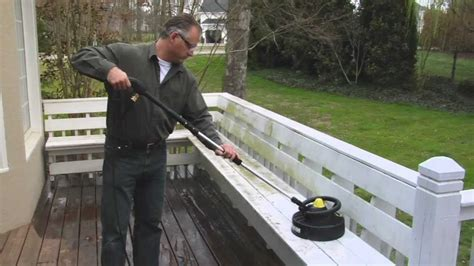 how to clean a patio with a pressure washer how to clean a wood deck with a gas pressure washer hd