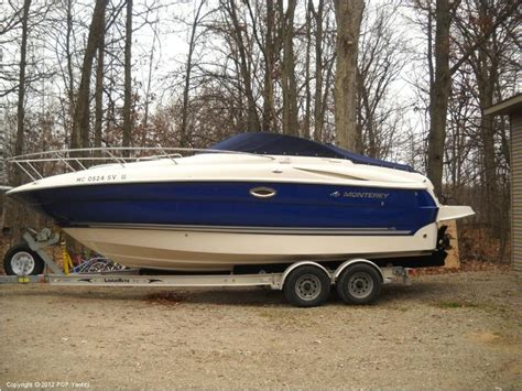 monterey 250cr cabin cruiser in florida power boats used