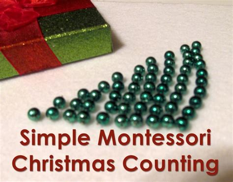 montessori counting preschool math simple montessori counting