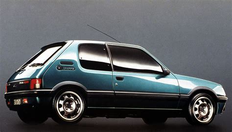 Classic Home Interior by 1984 1994 Peugeot 205 Gti Price Guide And Specifications