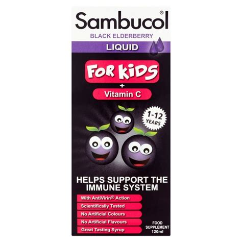 Sambucol For by Sambucol For Syrup 120ml From Ocado