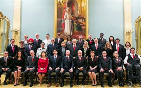 Who Are The Cabinet Ministers Of Canada by Canada Has Equal Cabinet With 15 And 15