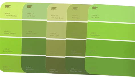 green paint swatches home depot paint color match home painting ideas