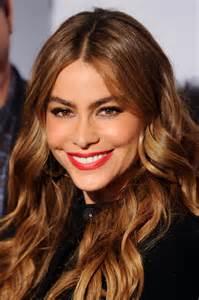 sofia vergara hair color sofia vergara new and shoulders spokesperson