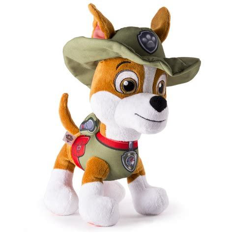 what of is tracker from paw patrol paw patrol basic 10 plush tracker paw patrol
