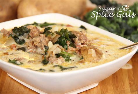 soup n salad olive garden zuppa toscana soup olive garden copy cat sugar n spice gals
