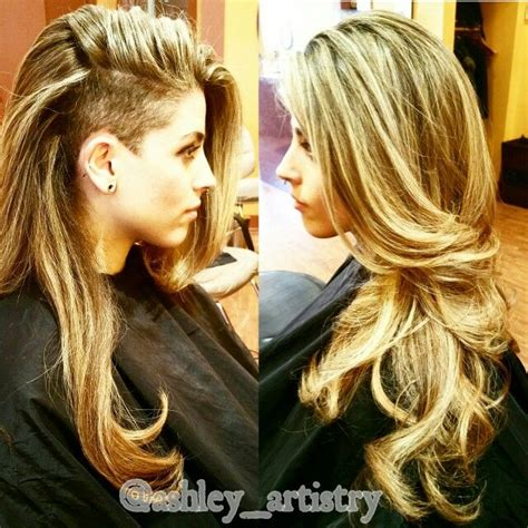 hair cut after dbs 25 best ideas about long shaved hairstyles on pinterest
