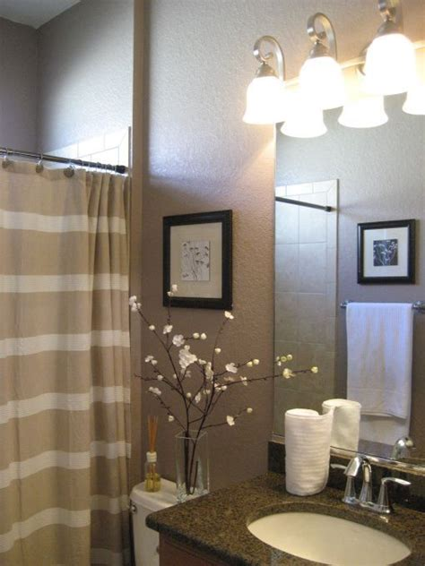 tan bathroom ideas small guest bathroom interiors pinterest
