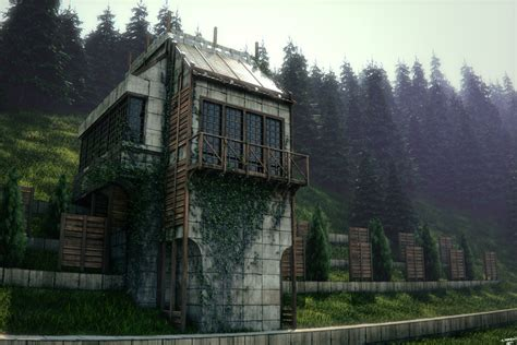 concrete forest home by ganymedegraphics on deviantart