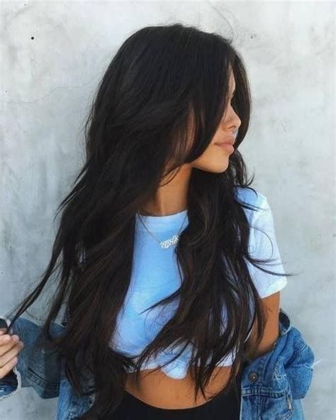 best 25 hair tumblr ideas on pinterest brown hair cuts 15 best collection of black hair long layers