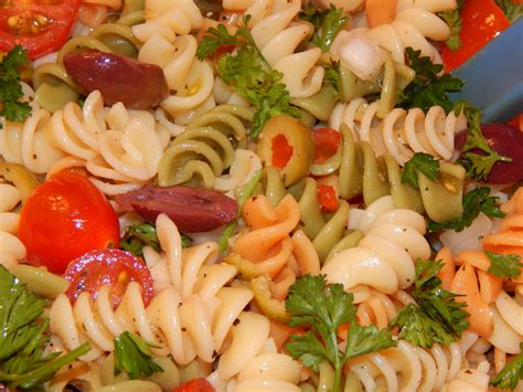 cold salads happy mofo and a recipe for cold pasta puttanesca salad