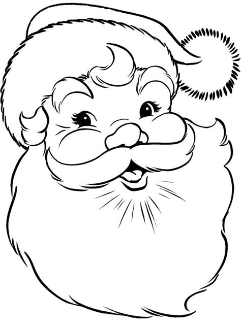 printable santa face 8 best images of free printable santa face template